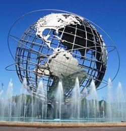Unisphere Sculpture in Queens, New York, NY